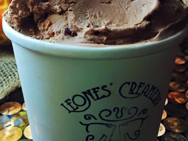 Leones' Creamery Ice Cream Spearfish South Dakota Black Hills