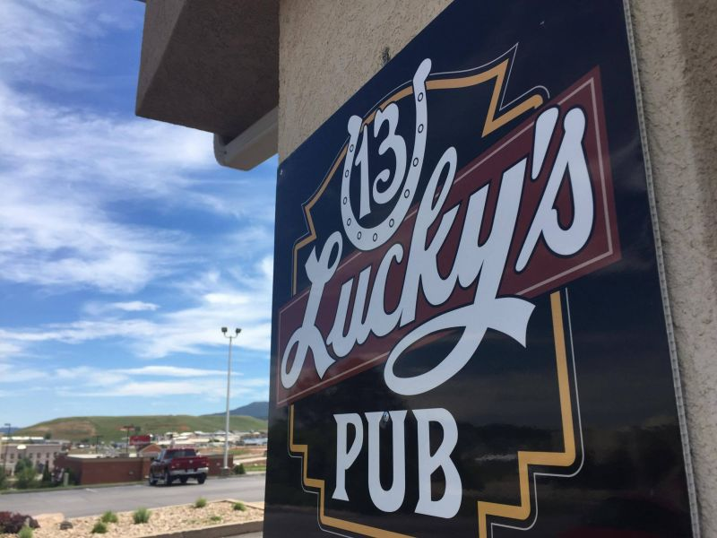 Lucky's 13 Spearfish South Dakota Black Hills Holiday Inn