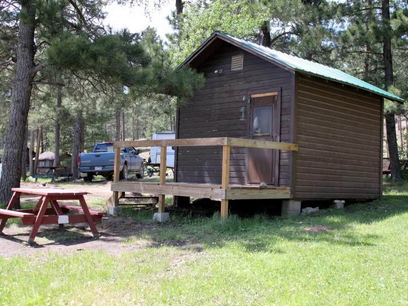 Iron Creek Lake Spearfish Tinton Road Black Hills South Dakota camping fishing picnicking hiking paddle boat cabins