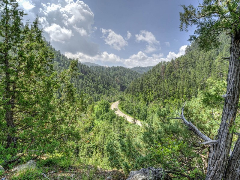 Rim Rock Lodge Spearfish Canyon Black Hills