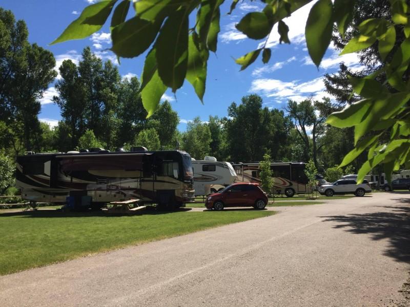 Spearfish City Campground Spearfish South Dakota DC Booth National Historic Fish Hatchery tent RV