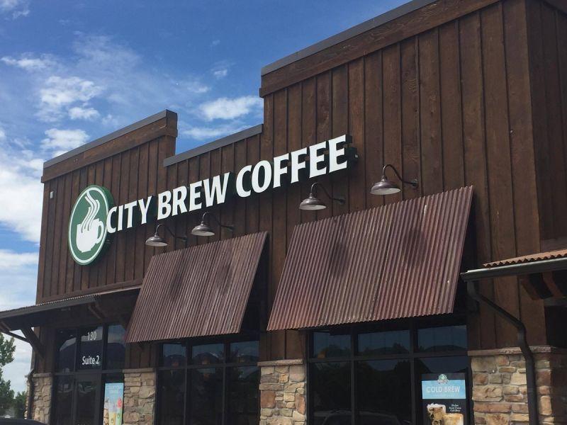 City Brew Coffehouse Spearfish South Dakota Black Hills Coffee Drive Thru