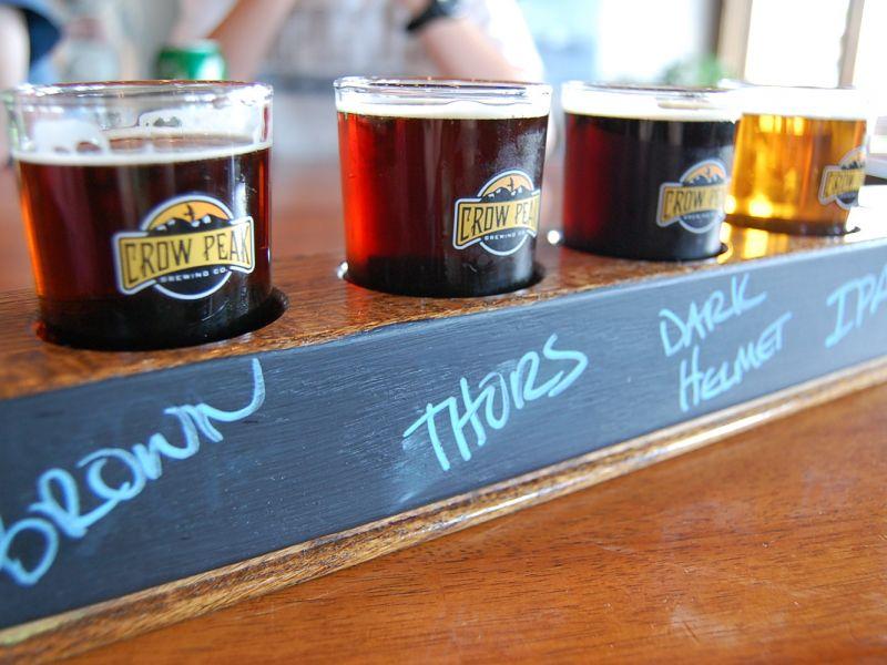 Crow Peak Brewery Spearfish Black Hills South Dakota Craft Beer