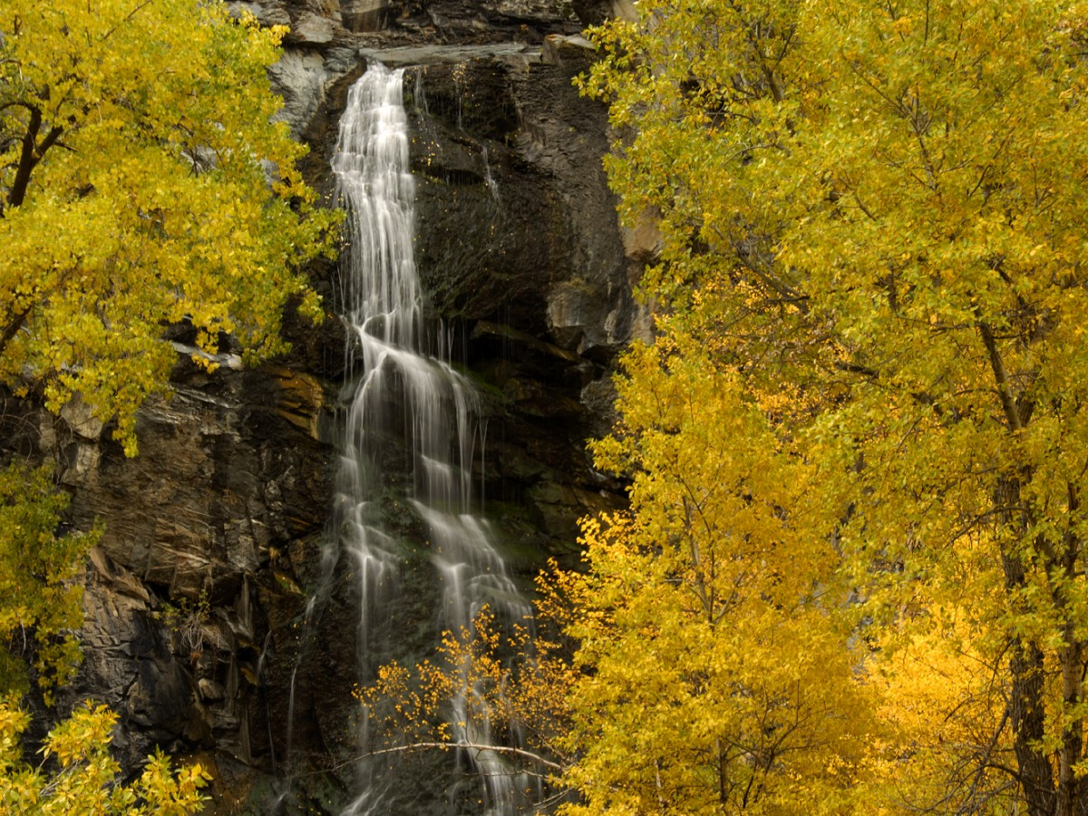 Bridal Veil Falls In Spearfish Sd Visit Spearfish