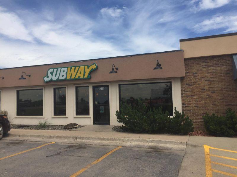Subway Restaurant North Avenue Spearfish South Dakota Black Hills