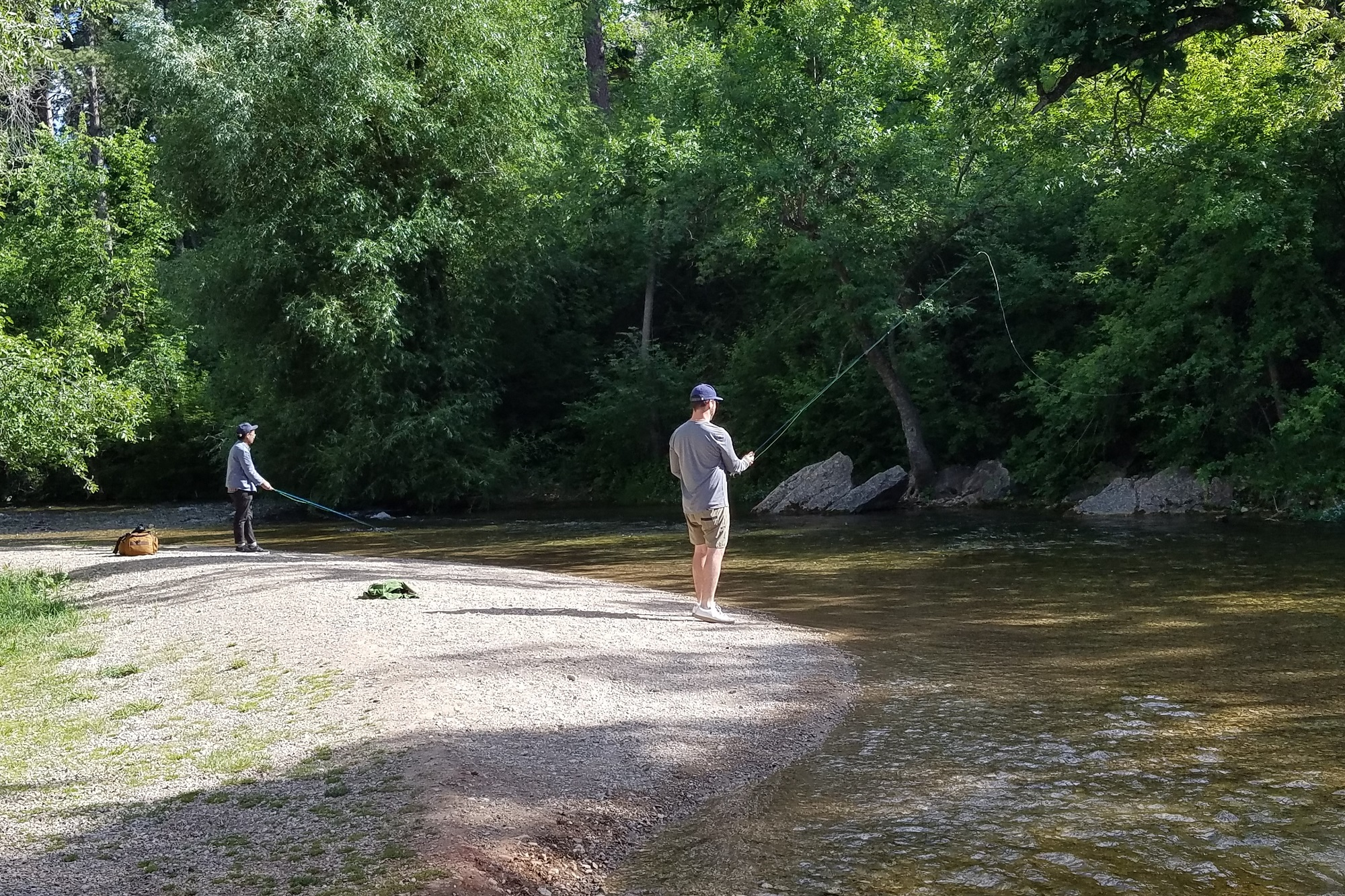 Fishing in the northern hills from the spearfish blog for Fly fishing south dakota