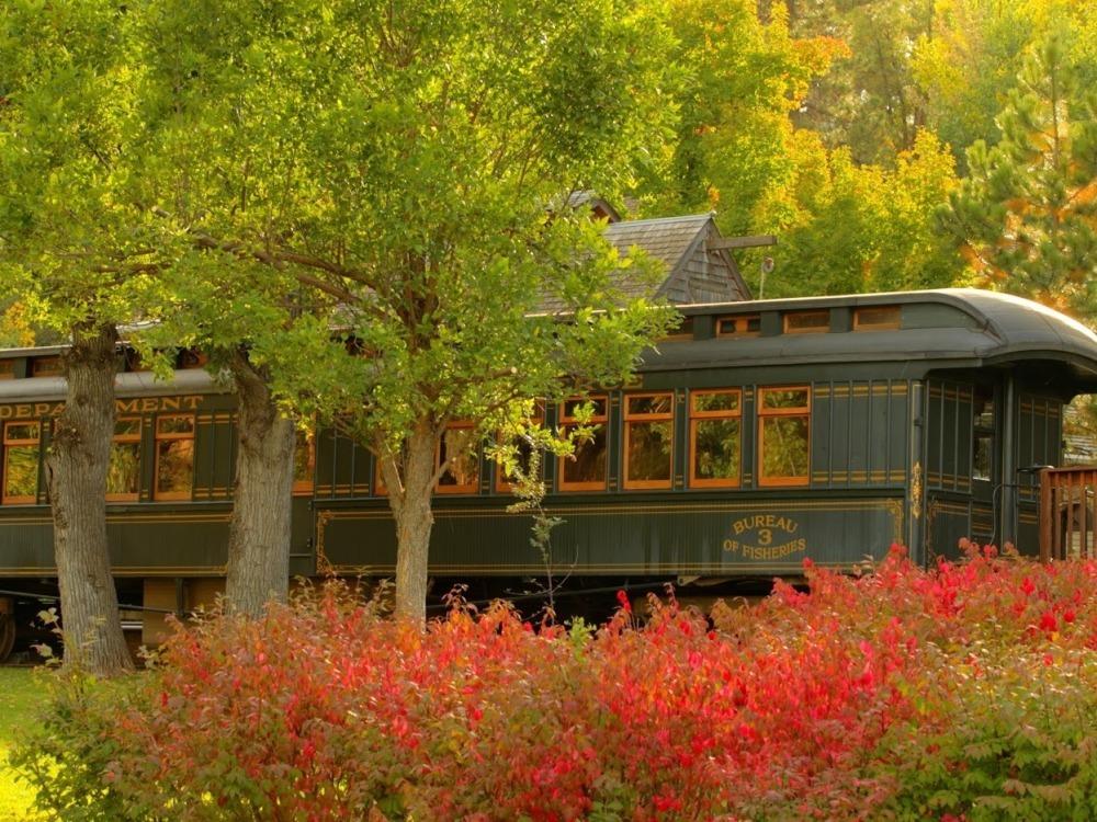 D.C. Booth Railcar