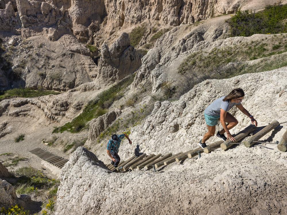 Exploration and adventure. Photo courtesy of South Dakota Tourism