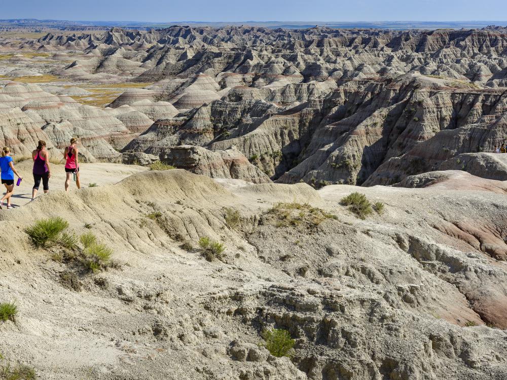Other-worldly landscapes. Photo courtesy of South Dakota Tourism